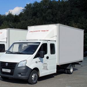 Услуги грузового такси. Газель 3-6 м