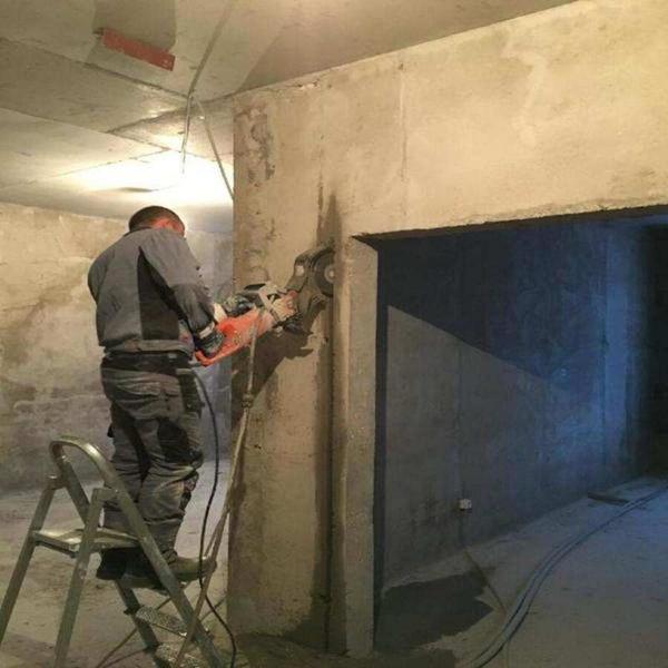 Алмазная резка бетона. 4