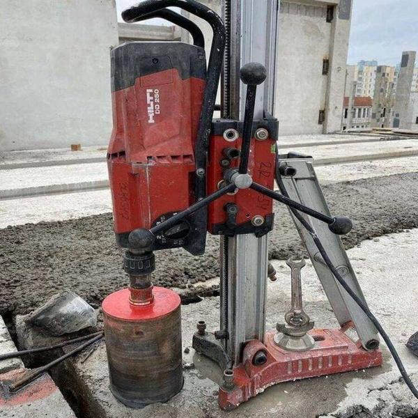 Бурение строительных материалов. 2