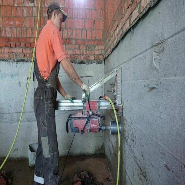 Алмазное бурение бетона 2