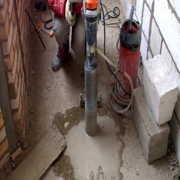 Алмазное бурение бетона 4