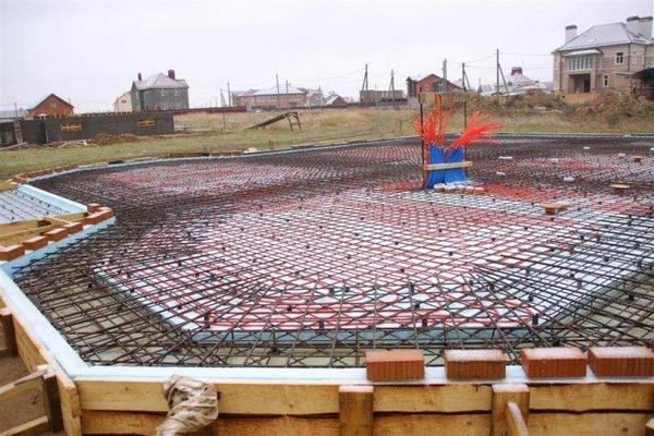 Строительство УШП-фундамента 4