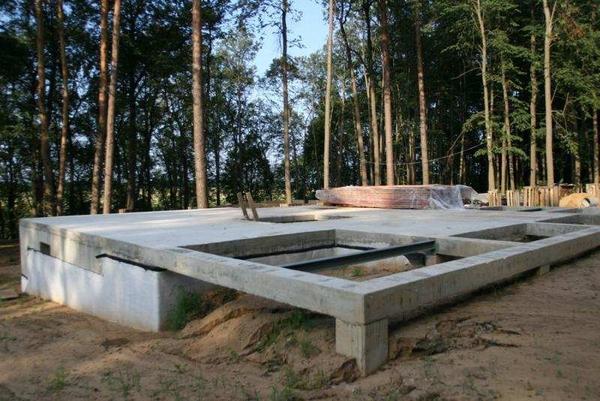 Строительство комбинированного фундамента 2