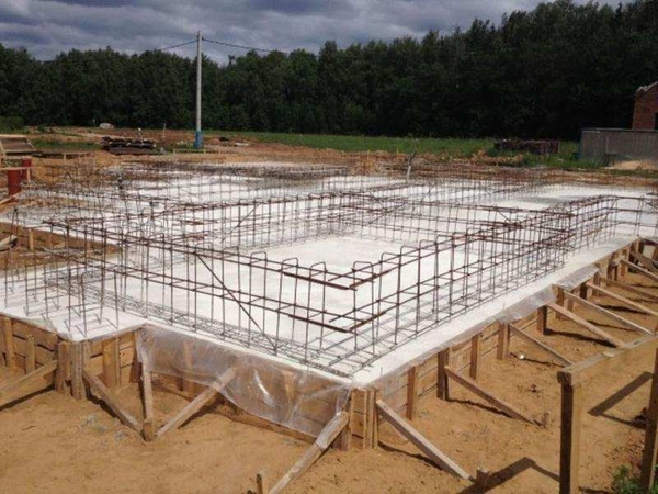 Строительство комбинированного фундамента 5