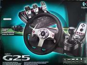Руль Logitech G25