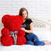 Медведи из роз от производителя